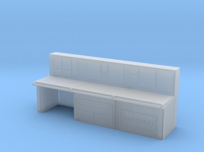1:50 Ship Control Console pt 5 (desk) 3d printed