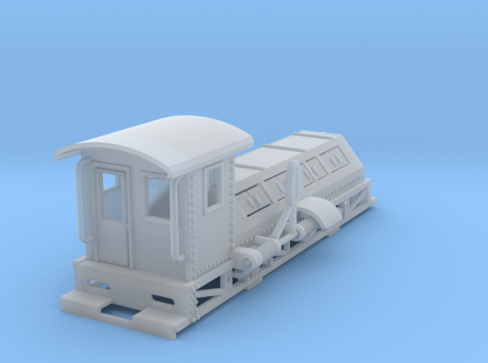shunter new revised HO scale 3d printed Shunter Poling Engine HO scale