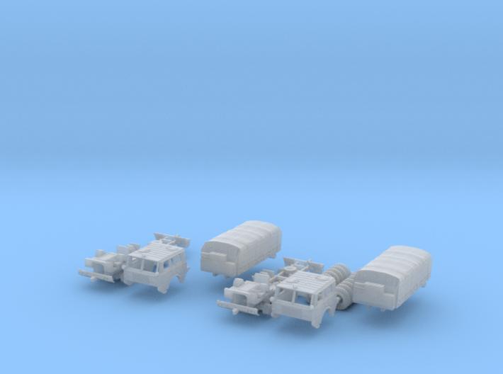 SET 2x Tatra 813 8x8 (N 1:160) 3d printed