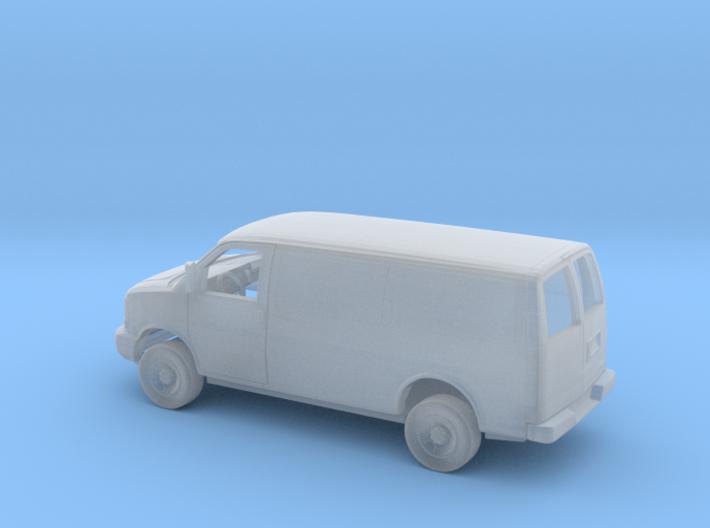 1/160 2003-Present Chevrolet Express Panel Van Kit 3d printed
