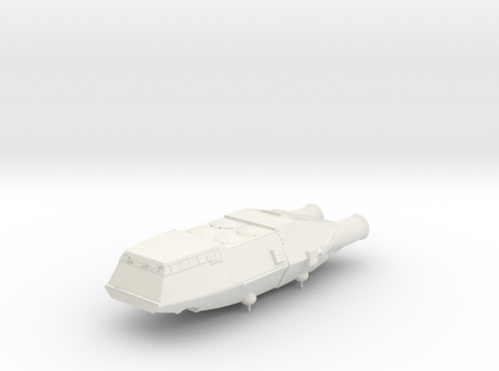 1/2500 BSG Colonial Shuttle (TOS) :-) 3d printed