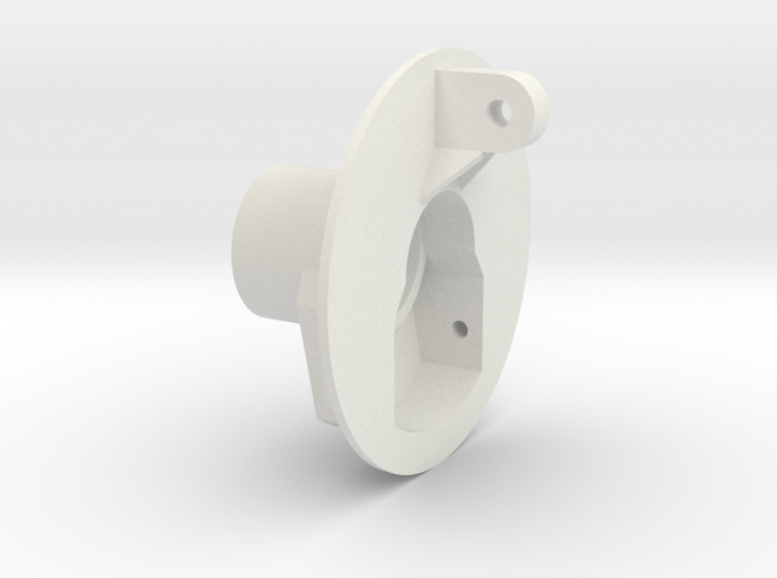 Schumacher cougar rear hub carrier 3d printed