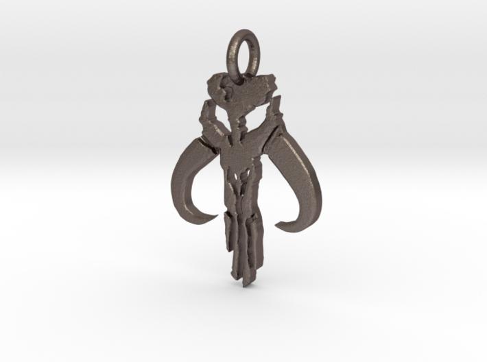 Mythosaur Skull Pendant (Small) 3d printed