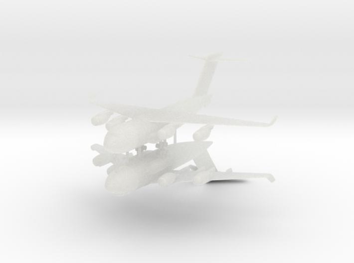 1/700 C-17 Globemaster III (2x) 3d printed