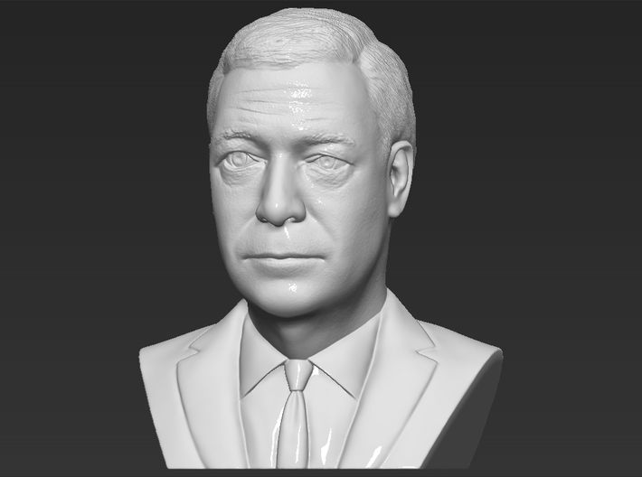 Nigel Farage bust 3d printed
