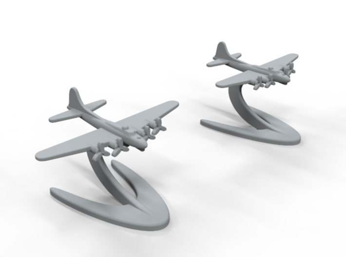 B-17 Flying Fortress 3d printed
