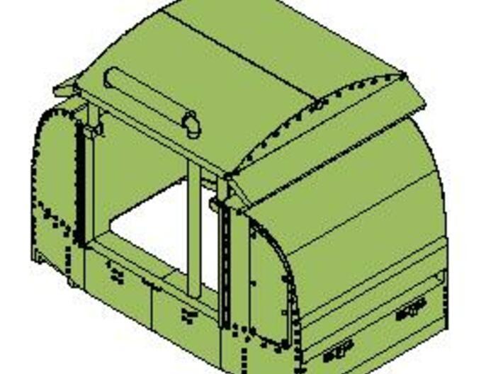 B-1-76-open-variant-simplex1 OO9 3d printed