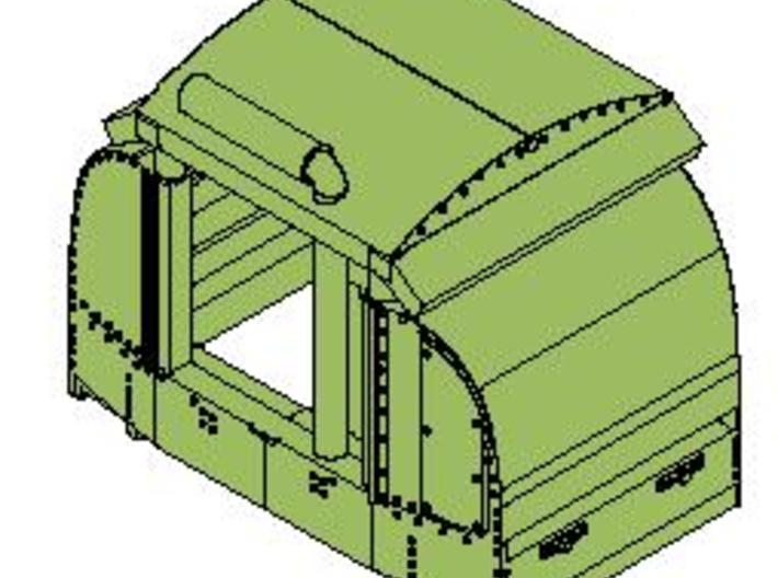 B-1-160-open-variant-simplex-1a 3d printed