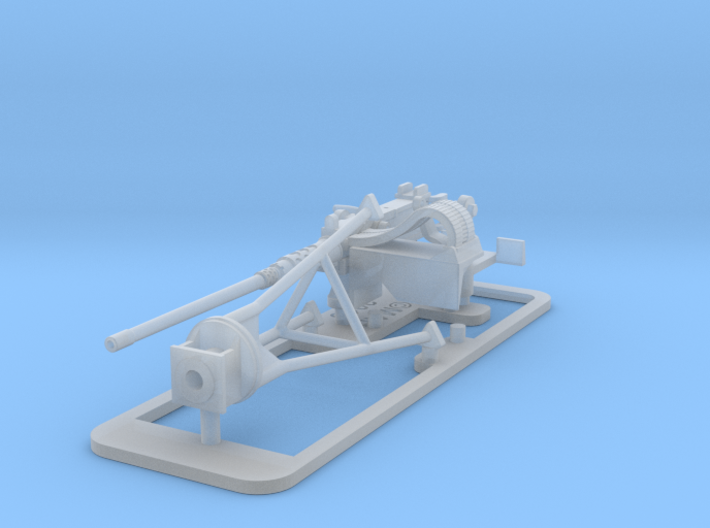 Single Modern 50 Cal Browning on Tripod 1/48 3d printed
