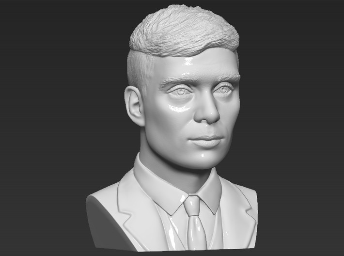 Tommy Shelby bust 3d printed