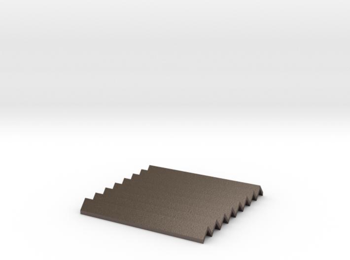 Large Concertina Heatproof Mat 3d printed
