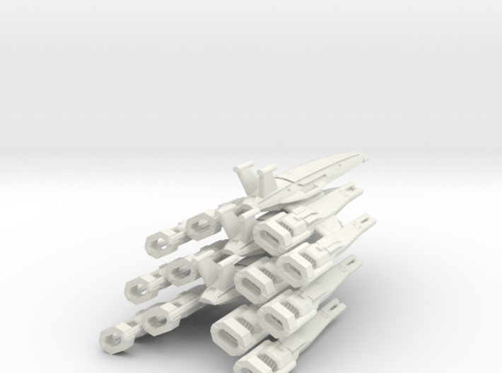 Nomad-D II  Squadron (3) 3d printed