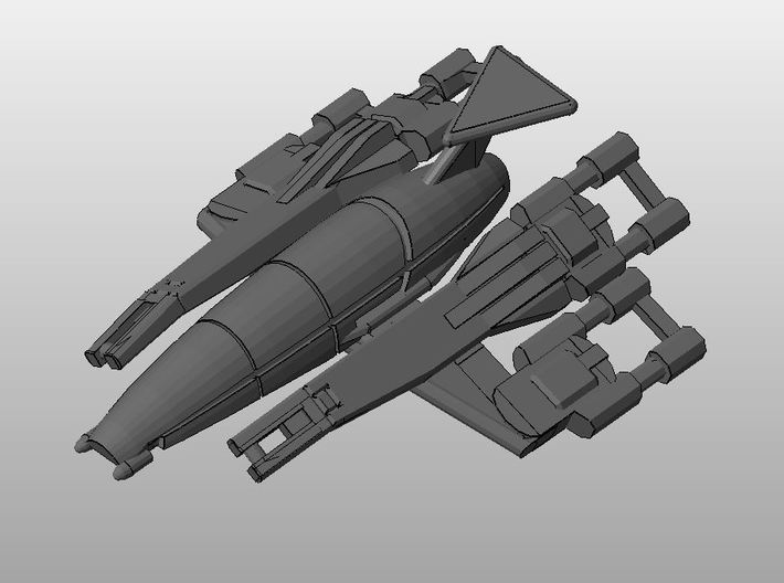 Nomad-D SDF Squadron (3) 3d printed Nomad-D SDFdetail render