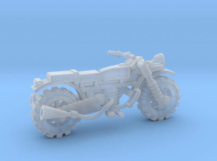 28mm crude motorbike model 1 3d printed
