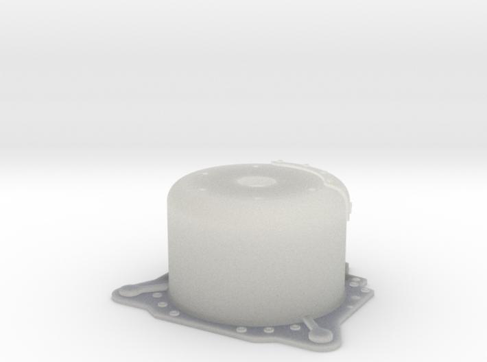 "1/24 Lenco 9.4"" Dp Bellhousing (No Starter Mnt) 3d printed"