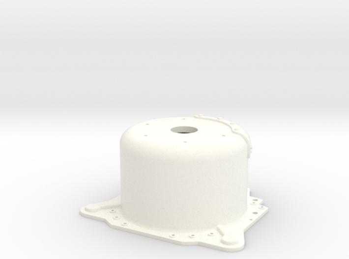 "1/8 Lenco 9.4"" Dp Bellhousing (No Starter Mnt) 3d printed"