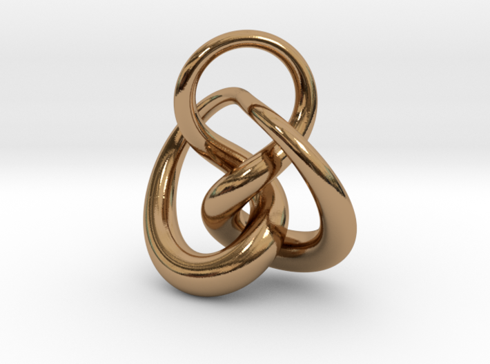 Knot F 3d printed