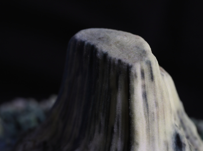 Devils Tower, Wyoming, USA, 1:5000 3d printed