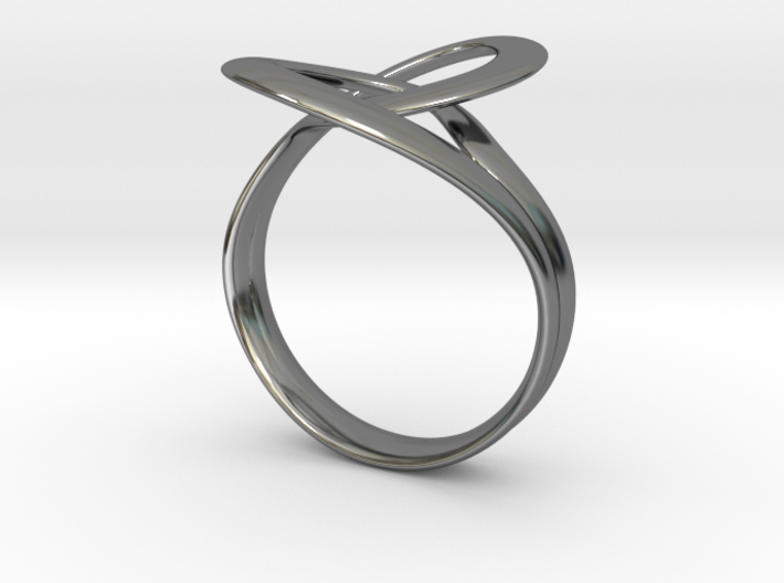 Kiss | Ring  3d printed