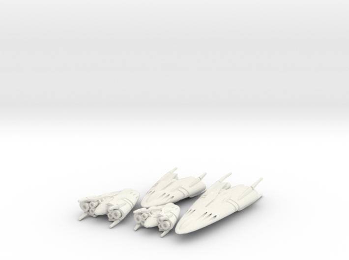 Slipstream B Legacy Set 1-2-3-4 3d printed