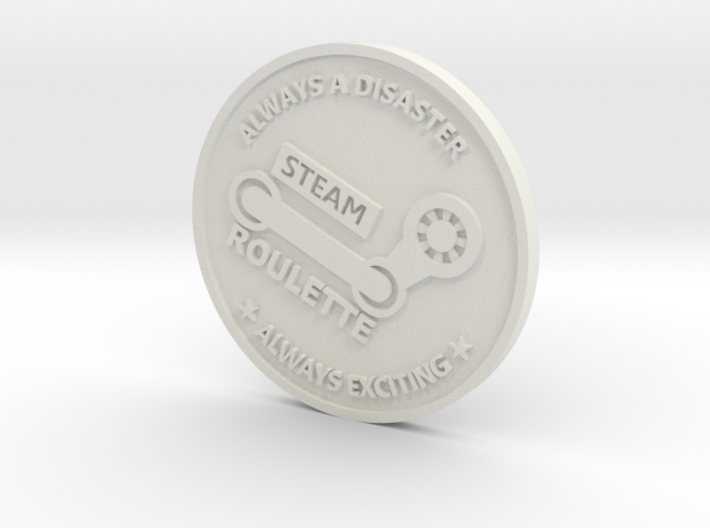Inside Gaming Coin 3d printed