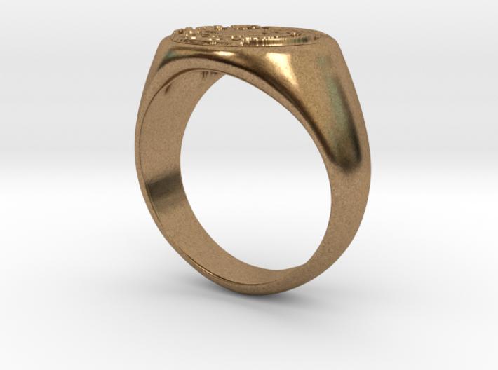 Size 12 Targaryen Ring 3d printed