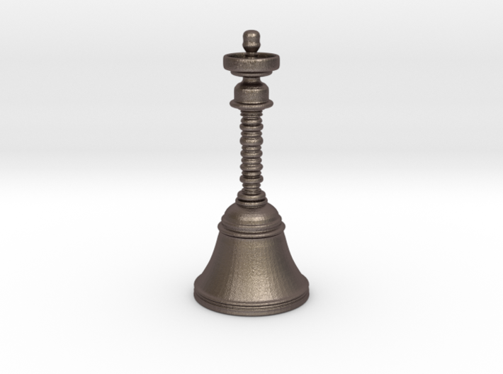 300 Million-year Old Brass Bell Replica 3d printed