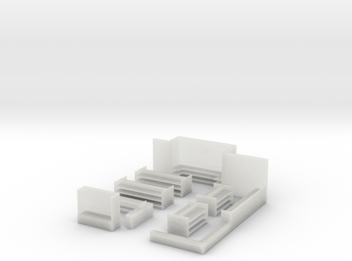 N-Scale Hobby Smith Interior 3d printed