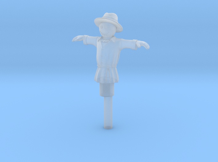 HO Scale Scarecrow 3d printed This is a render not a picture