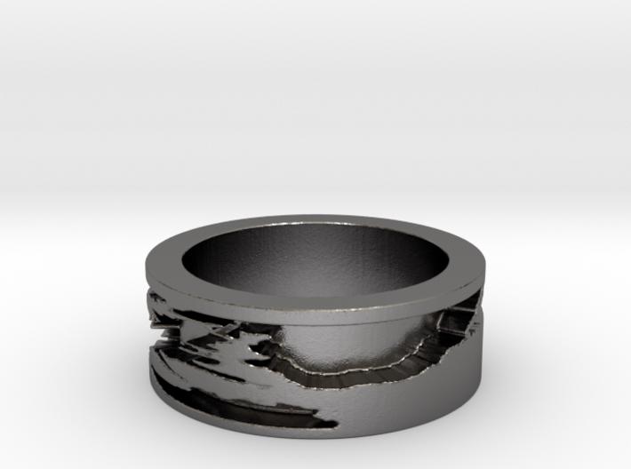 Shibori (Size 6.25) 3d printed