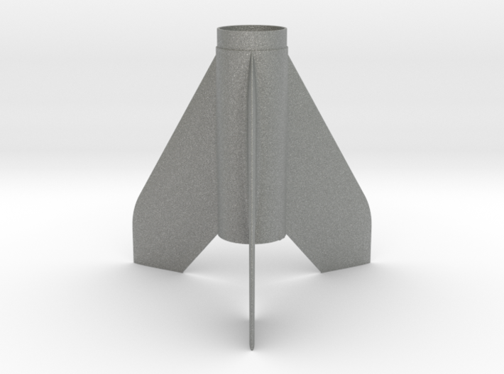Scamp-style Fin Unit BT50 for 18mm motors 3d printed