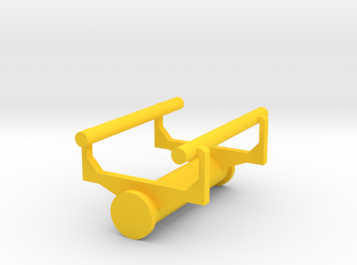 Small Roller Coaster paperweight (Vekoma/Arrow) 3d printed