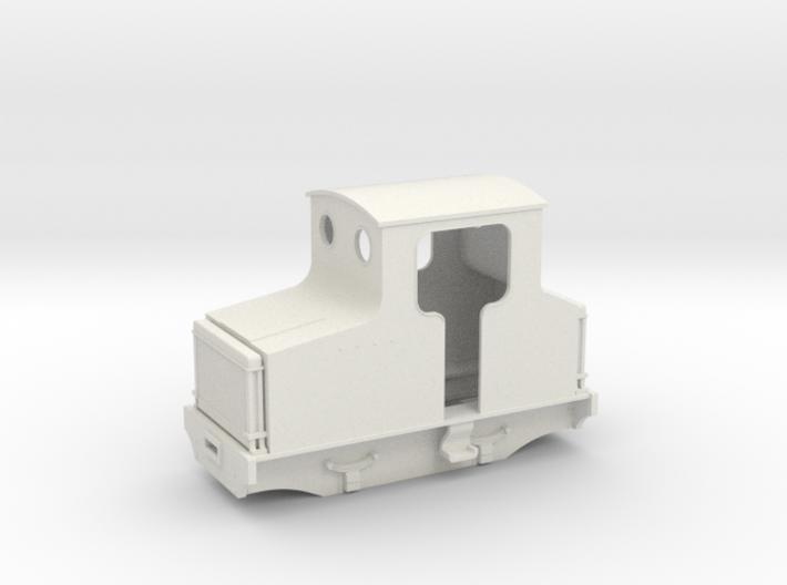 On18/O9 freelance Hawthorn Leslie petrol loco 3d printed