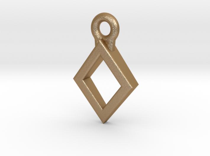 Diamond Charm / Pendant / Trinket 3d printed