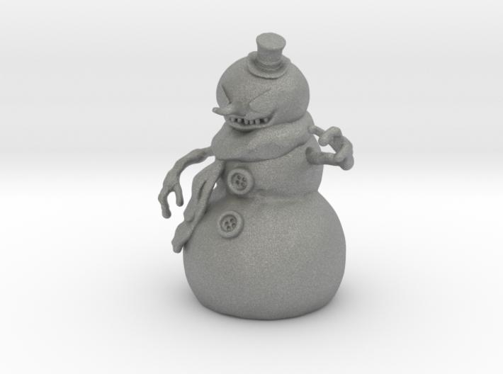 Killer Snowman 1/60 miniature horror games fantasy 3d printed