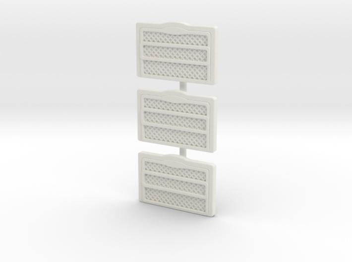 1/64 Pierce Velocity Grill (Set of 3) 3d printed