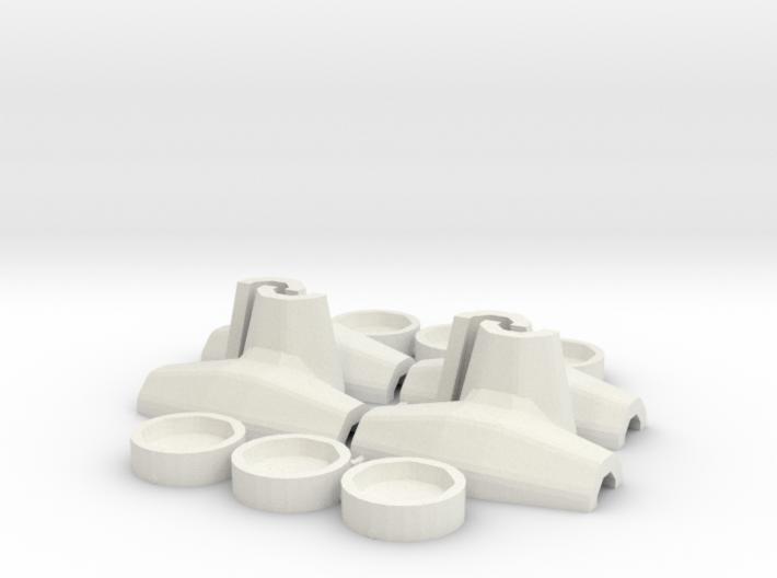 1:50 Core-loc 3m mould kit 3d printed