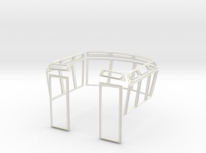 Fensterrahmen Schlepper 3d printed