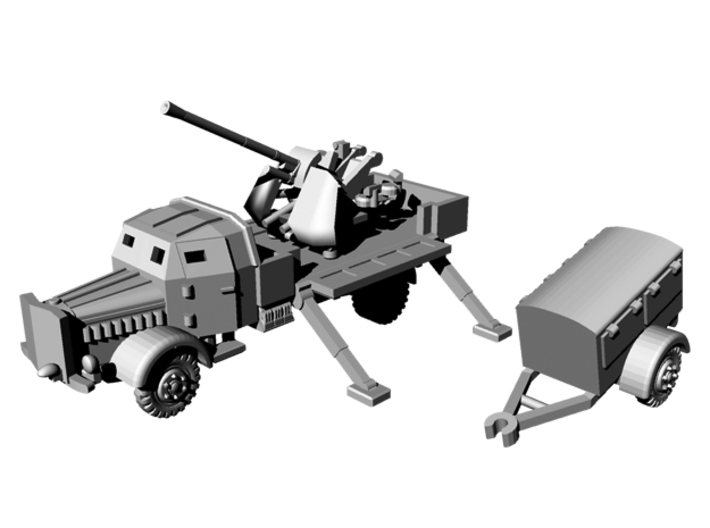1/144 WWII German L4500A with 3.7 cm Flak 37 3d printed