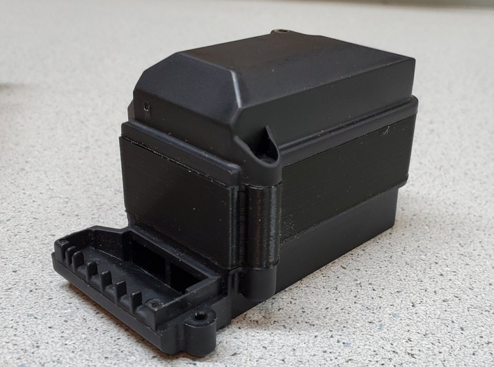 "TRX4 Receiver Box Extension 3/4"" Riser 3d printed"