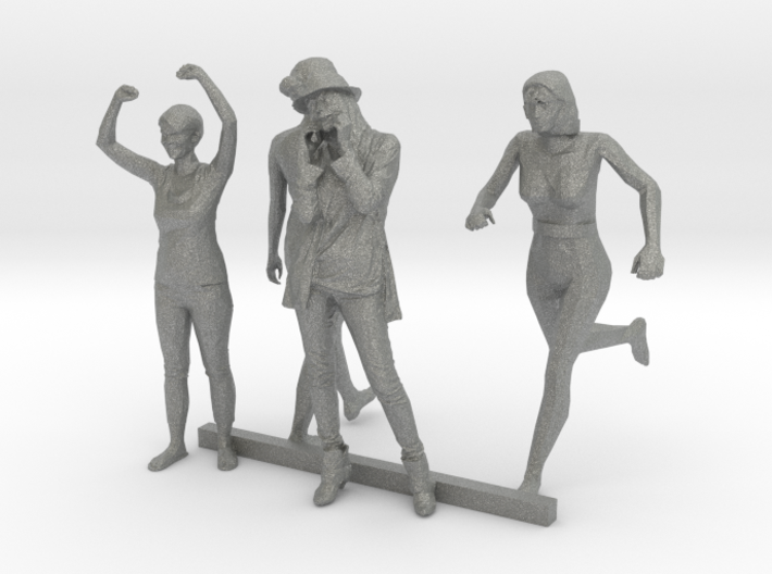 S Scale Standing Women 2 3d printed This is a render not a picture