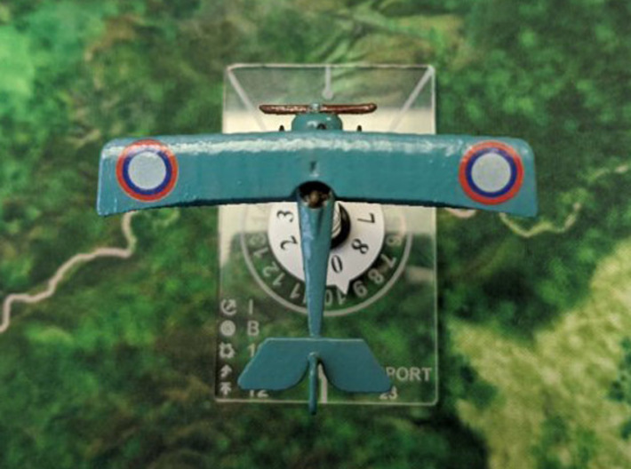 Nieuport 23 3d printed Photo and paint job by 'Malachi' at wingsofwar.org