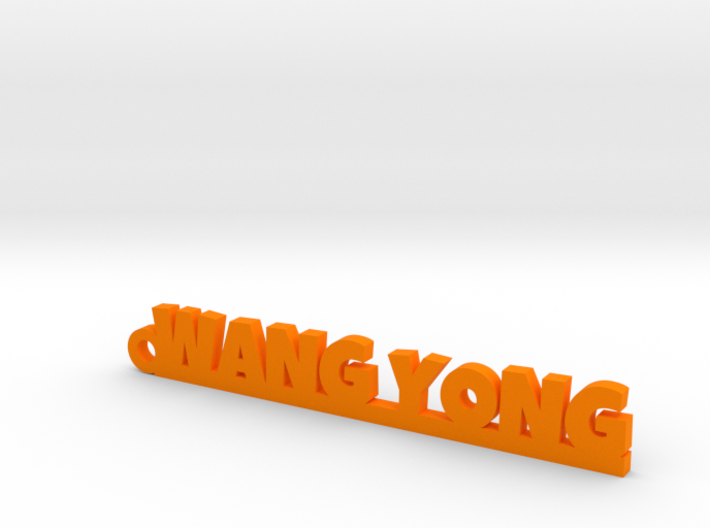 WANG YONG_keychain_Lucky 3d printed