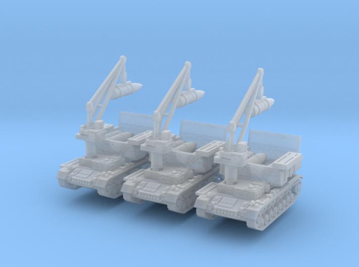 Munitionsschlepper Pz IV 54cm (x3) 1/220 3d printed