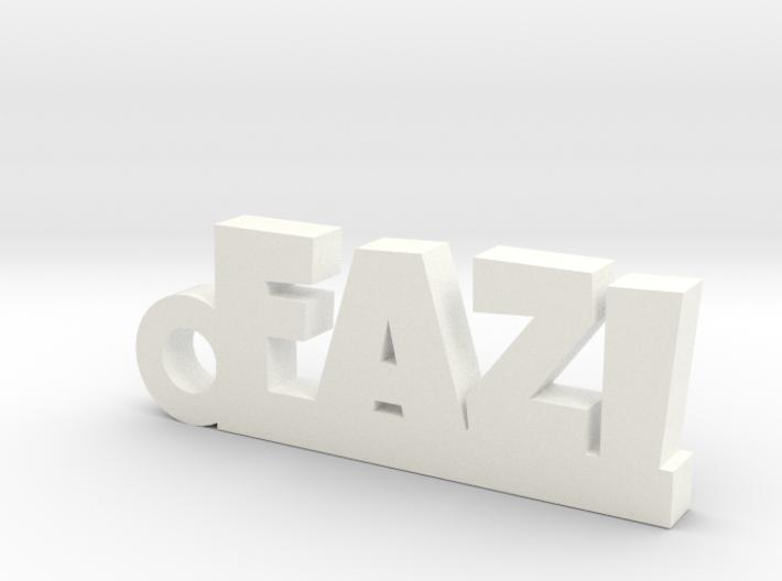 FAZI_keychain_Lucky 3d printed