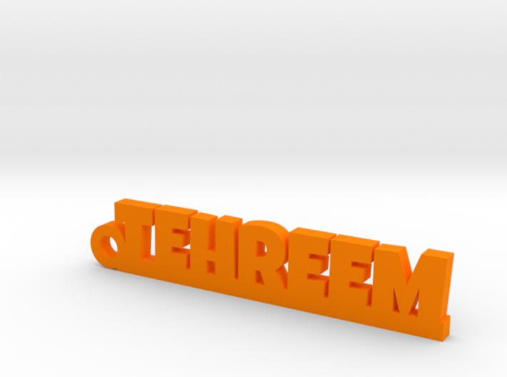 TEHREEM_keychain_Lucky 3d printed