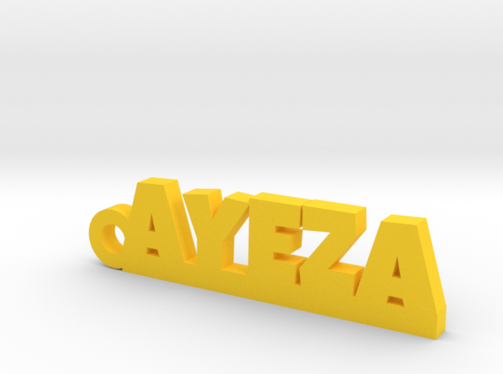 AYEZA_keychain_Lucky 3d printed