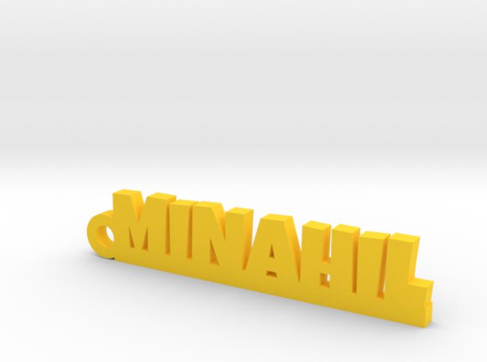 MINAHIL_keychain_Lucky 3d printed
