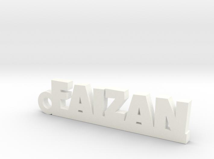 FAIZAN_keychain_Lucky 3d printed