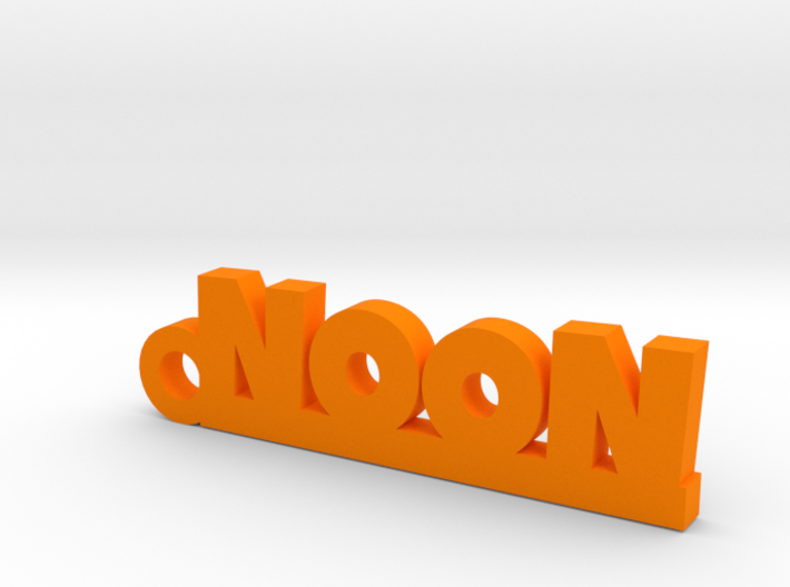 NOON_keychain_Lucky 3d printed